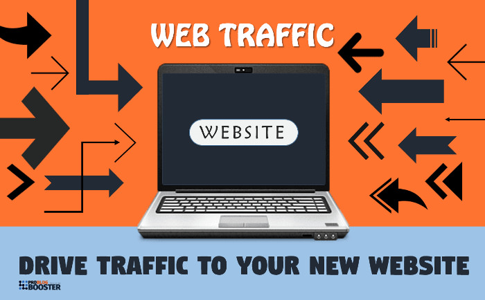 9 Ways to Drive Traffic to your New Website for Free(# 5 will blow your mind)
