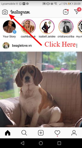 how to add link to instagram story if not verified