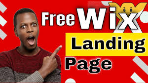 How to Make a Landing Page With Wix 2020