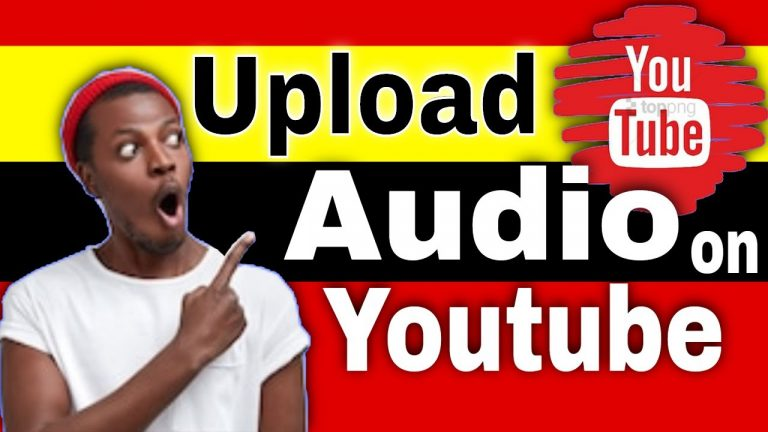 How to Upload Audio to Youtube