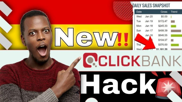 How to Make Money on Clickbank Giving away Free Products