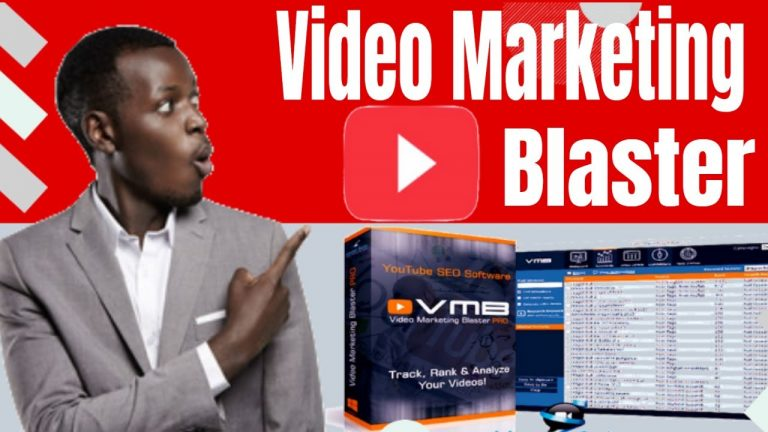 Video Marketing Blaster Review and Demo [Rank Videos with 3 clicks]