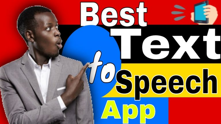 Best Text to Speech Generator 2020