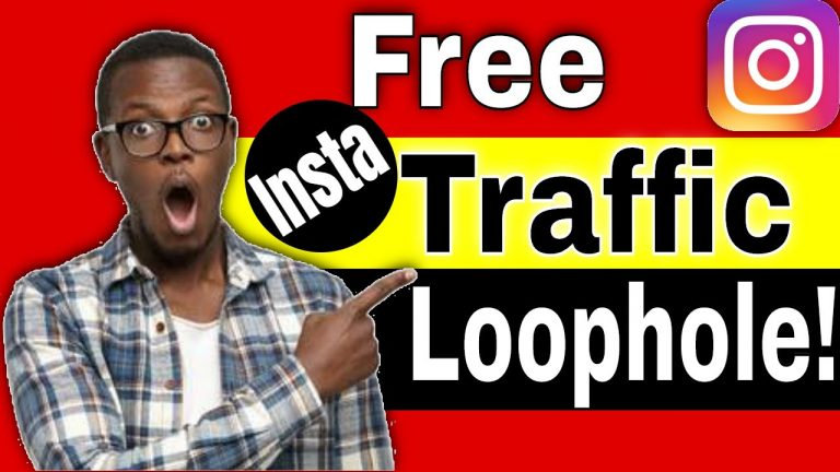 How to Get Free Traffic from Instagram [Free Traffic Source loophole]