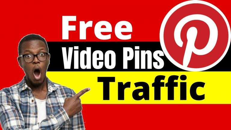 How to get Free Traffic from Pinterest  with Video Pins