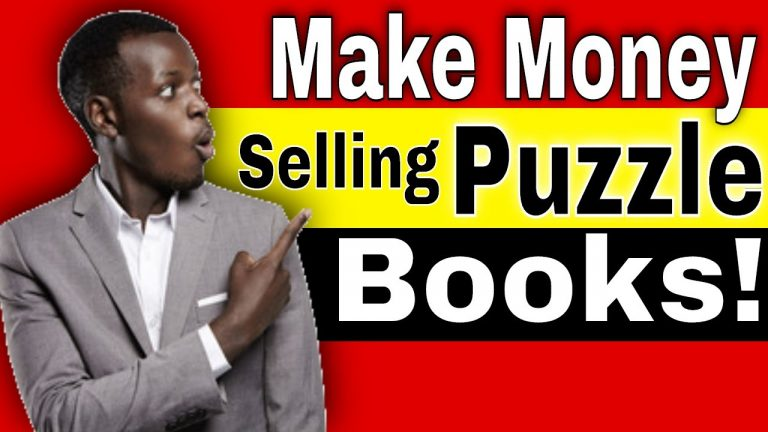 How to Make Money Selling Puzzle Books on Amazon