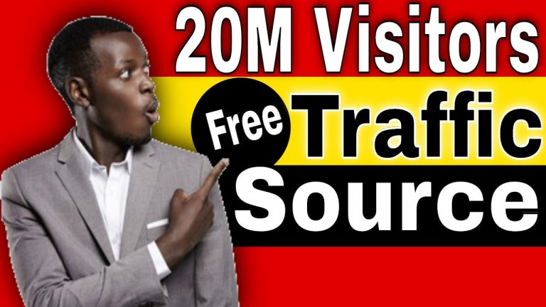 Free Traffic Sources for Clickbank [20 million visitors a month]