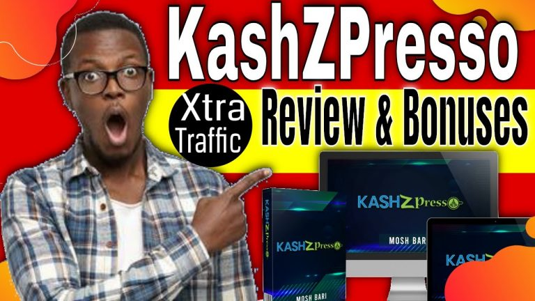 Kashzpresso Review / Demo Bonuses[Free Traffic Source]