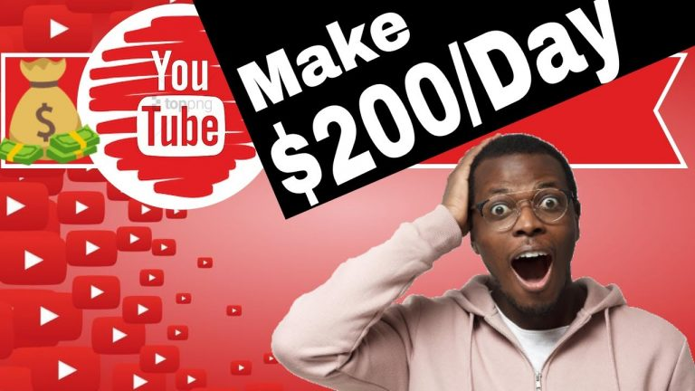 How to Make $200 a Day on YouTube without Making Videos part 2