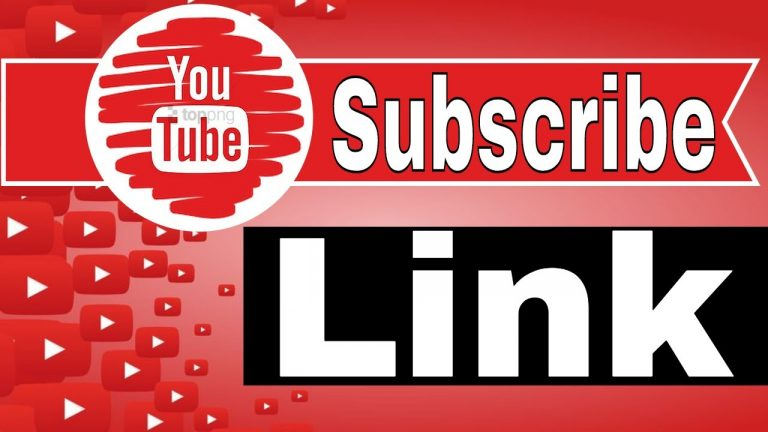 Still looking for ways to Create a YouTube Subscribe Link?