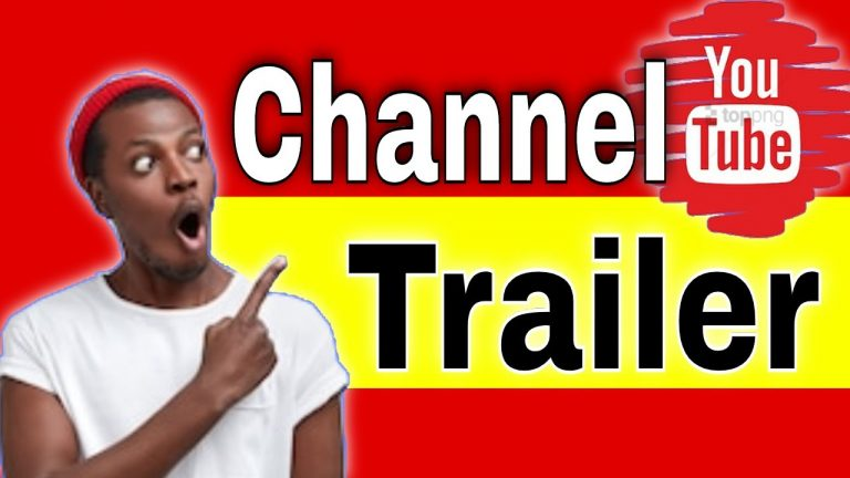 How to Add a Channel Trailer[Product Review Channel]