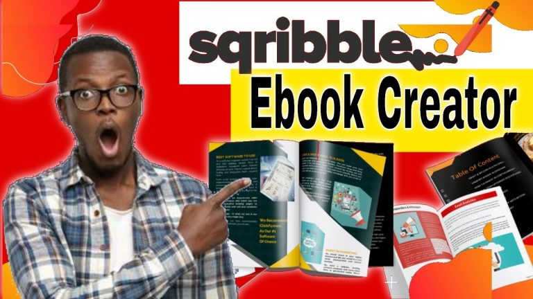 Sqribble Ebook Creator Review[Full Sqribble Review and Demo]