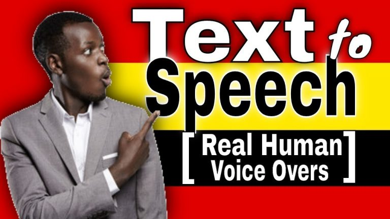 Best Text to Speech Generator for YouTube Videos [Real Human voice Over]