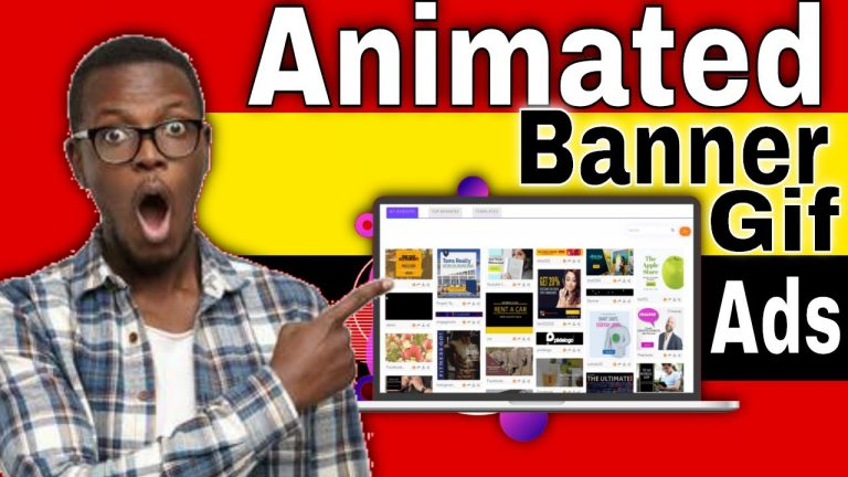 How to Create Animated Web Banner Ads [Gif Animation Banner]