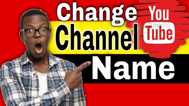 How to Change YouTube Channel Name 2021