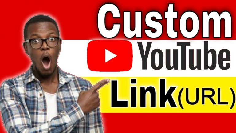 How to Create Custom URL Link for YouTube Channel 2021