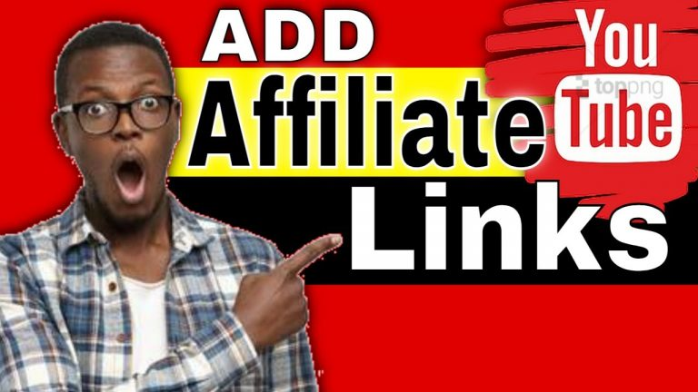 How to Put Affiliate Links on Youtube Videos