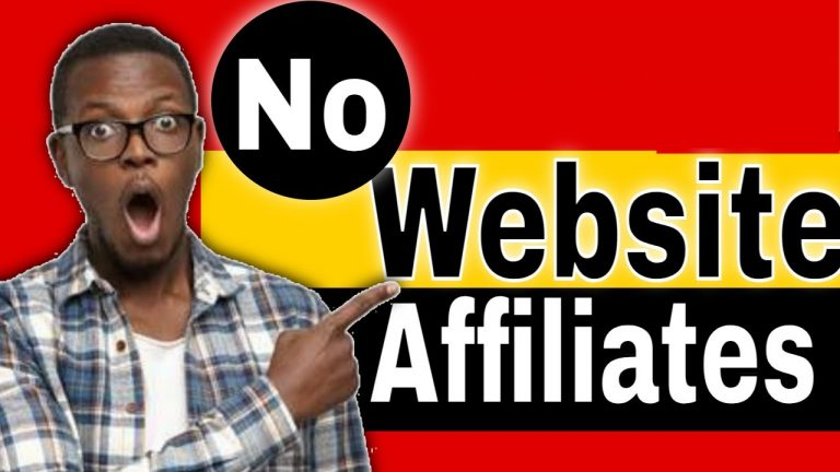How to Get Started with Affiliate Marketing Without a Website