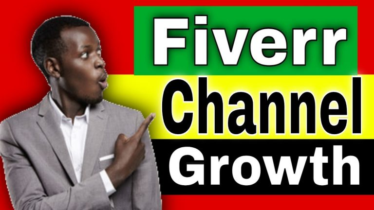 How To Create and Monetize a YouTube Channel using Fiverr
