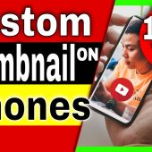 How to Add Thumbnail to YouTube Video on mobile